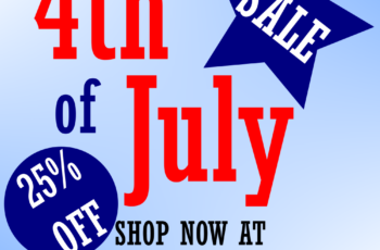 BOOM! 4th of July Sale!!